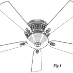 Ceiling Fan Patent Drawing